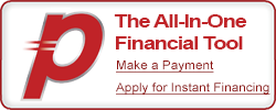 apply for instant financing or make a payment through payzer